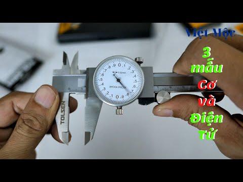 thước kẹp cơ thước kẹp điện tử tolsen