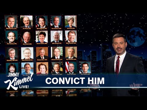 Jimmy Kimmel Breaks Down Path to a Trump Conviction