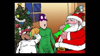 Download Video A Green Reefer Christmas -   Ganja Cartoon The Chronic Superhero MP3 3GP MP4