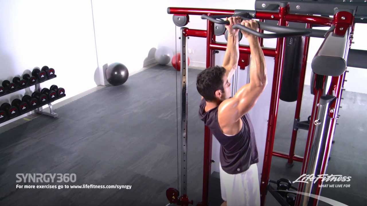 Narrow Underhand Grip Pull-Ups - YouTube