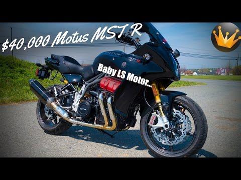 2017 Motus MST R ($40,000 Motorcycle)