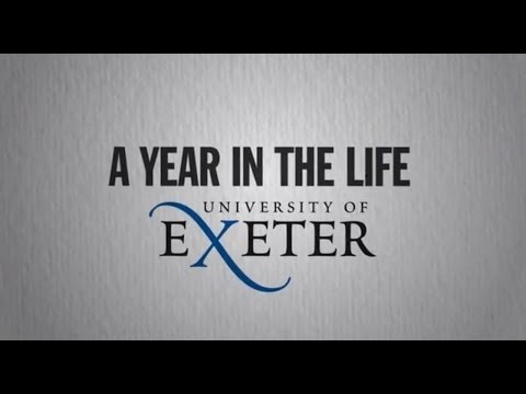 A year in the life of the University of Exeter