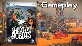 ▶ Shoot Many Robots - First Gameplay [PC, ENG]