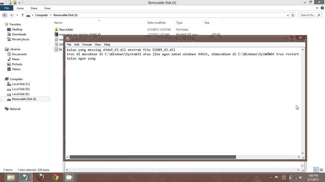 d3dx9 43.dll pes 2013 gratuit