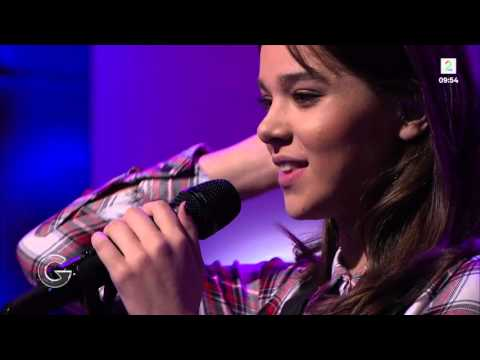 Hailee Steinfeld - Love Myself - Good Morning Norway (09/28/2015)