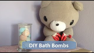 DIY Easy Bath Bombs Without Citric Acid