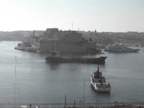 MN Malta Grand Harbour Birgu