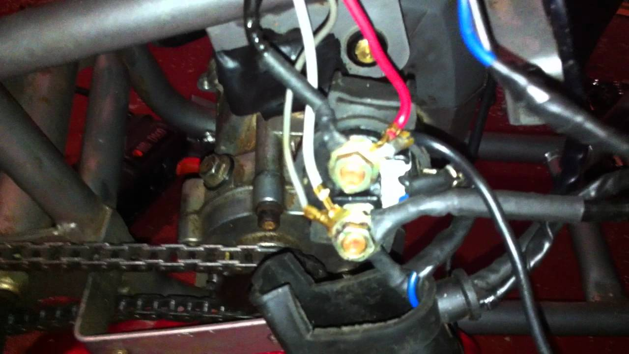Wiring Diagram For X18 Pocket Bike : Cc pocketbike motor selenoid buzzing youtube