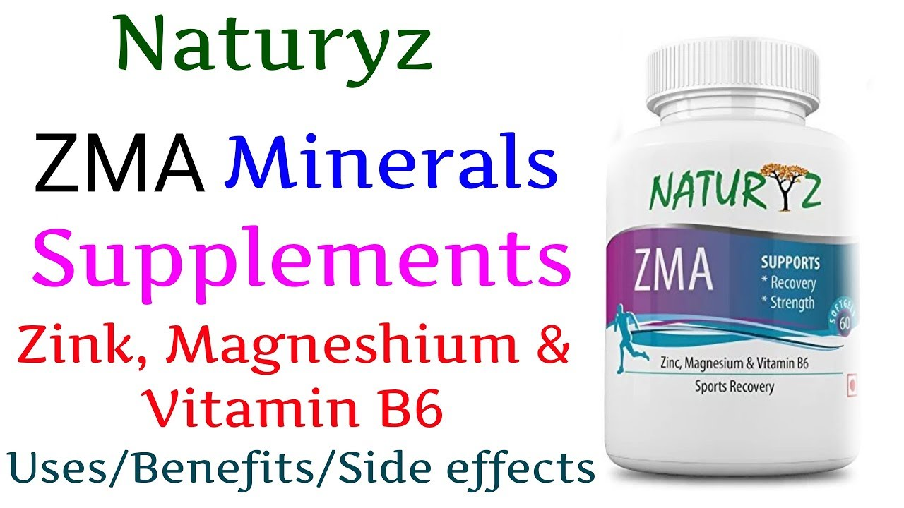 Naturyz ZMA Natural Mineral Supplement Uses/Benefits/ Side effects in Hindi