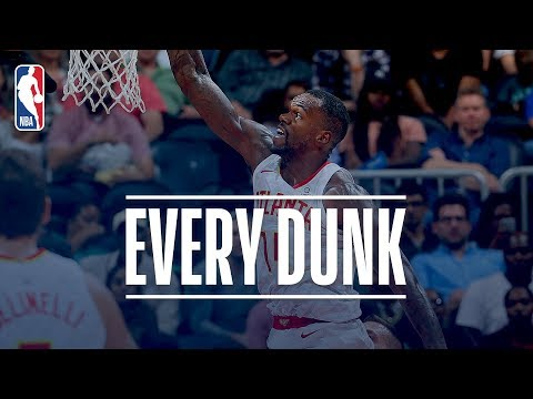 John Collins, Al Horford and Every Dunk From Monday Night | Nov 6th, 2017