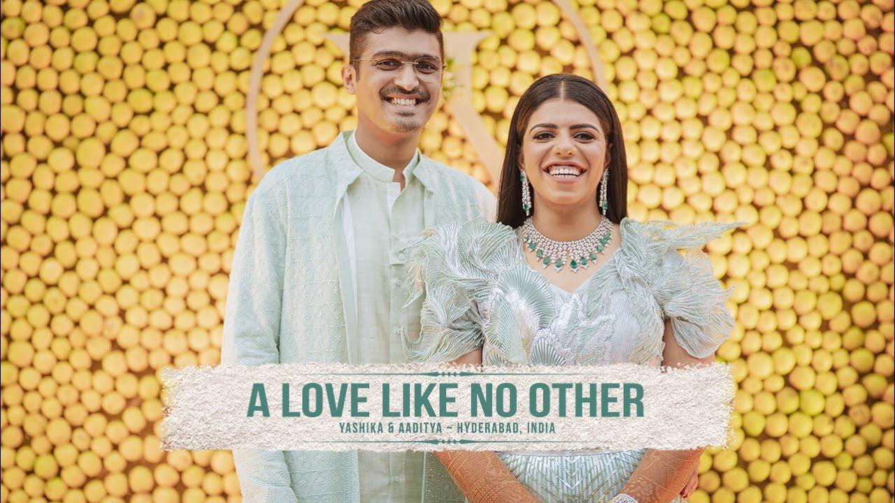 A LOVE LIKE NO OTHER - Yashika & Aaditya Trailer // Best Wedding Highlights // Hyderabad, India