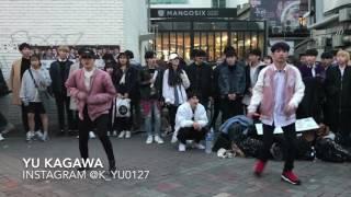 BTS - Save Me Hongdae 버스킹