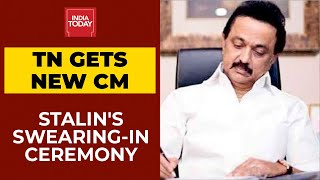 DMK Chief's Swearing-In Ceremony, MK Stalin Becomes The New CM Of Tamil Nadu