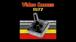 1977 VIDEO GAMES T-Shirt launch promo