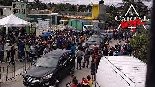 VISITA DE DADDY YANKEE A SU FUNDACION 'Daddy´s House' En Rep. Dominicana