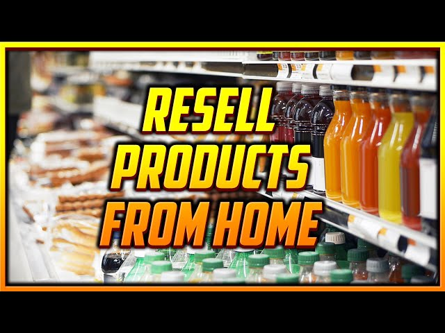 9 Quick Ways to Find Products to Resell from Your Couch
