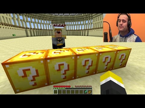 Minecraft Lucky Block Mod PvP ep.1 [Srpski Gameplay] ☆ SerbianGamesBL ☆