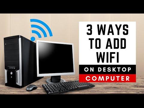 Подключите WiFi к настольному ПК-3 способа добавления бе...