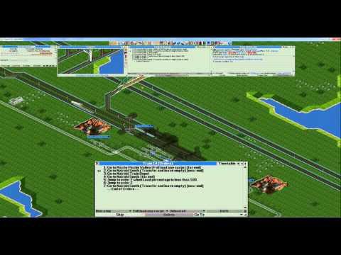 OpenTTD FIRS Eng/Farm supply transfer (Locomotive)