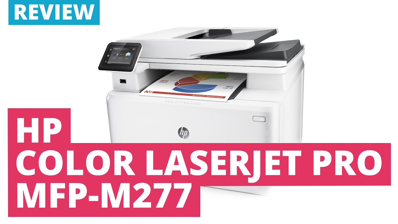 6ddff6518b01 HP Color Laserjet Pro MFP M277n A4 Colour Multifunction Laser Printer