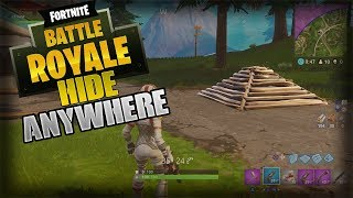 HOW TO GET EASY WINS (HIDING SPOT ANYWHERE) - Fortnite Battle Royale