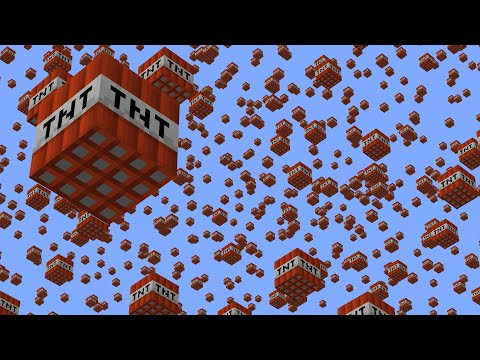 Spawning TNT Every 1,000 Blocks In Minecraft UHC