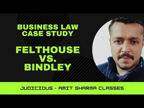 Case Study Felthouse Vs Bindley