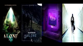 Download Alone II ✘ Alone ✘ Play ✘ Faded [Remix Mashup] - Alan Walker, Ava Max, K-391, Tungevaag & More