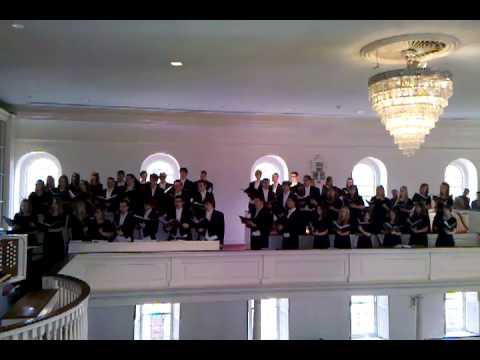 Thomas Jefferson High School Sings at Christ Church Alexandria, VA #2
