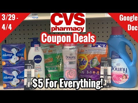CVS Free & Cheap Coupon Deals & Haul | 3/29 - 4/4 | Over $50 In Household Products For $5! 🙌🏽