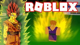 Roblox - SUPER SAIYAJIN FALSO !! - Dragon Ball Online Revelations (DBOR) #4 🎮