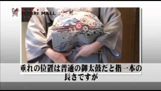 Repeat youtube video 銀座結び(前結び) 実践編