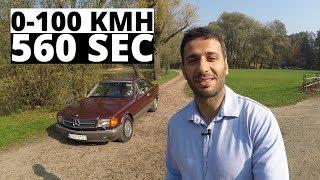 Pomiar przyspieszenia 560SEC - zobacz ile ma do setki!