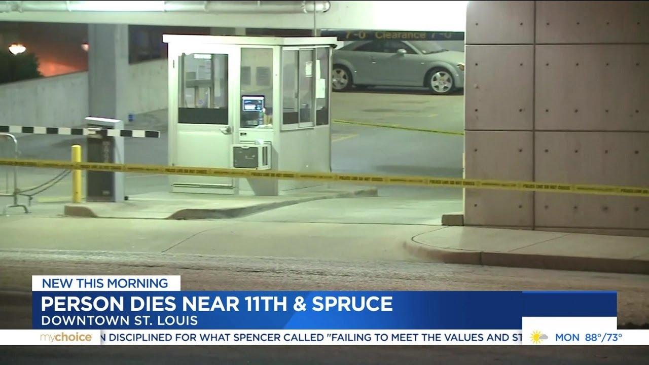 Investigation underway after death in downtown St  Louis