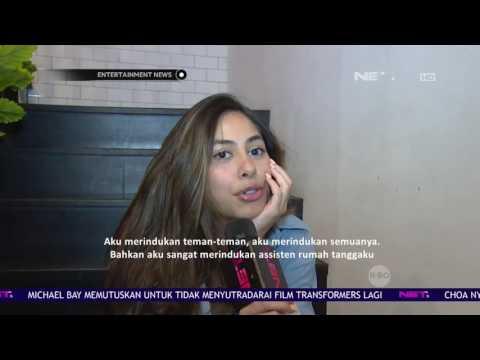 Pulang ke Jakarta, Valerie Thomas Sibuk Bekerja