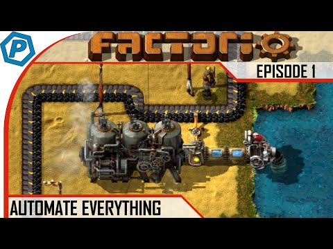 Factorio | Automate Everything | #1 | From Bruning to the Electrical Power
