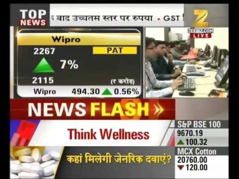 Results of Wipro came better than expected