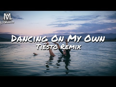 Calum Scott - Dancing On My Own (Tiësto Remix) (Lyric Video)