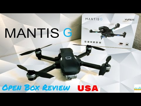 Yuneec Mantis G - The First US Open Box Review