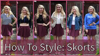 How To Style A Skort | 6 Outfits