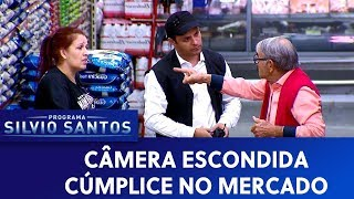 Cúmplice no mercado Câmeras Escondidas 08 09 19
