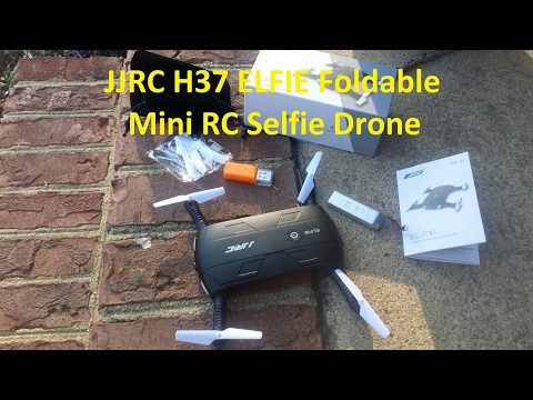 JJRC H37 ELFIE Foldable Mini Drone Review