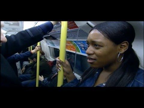 Derren Brown on the London Underground