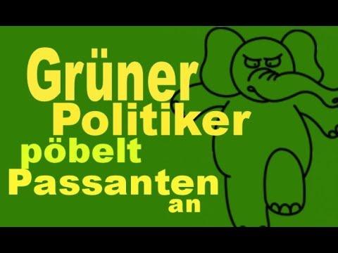 AFD Gauland von Grüner Politikerin der Stadt verwiesen - Daniela Cappelluti - Satire