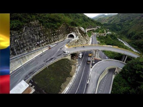 construcción de la Doble Calzada Bogotá Villavicencio 2016