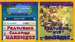 Double Trouble - Clash Royale Tournament & Clash of Clans 5v5!!!