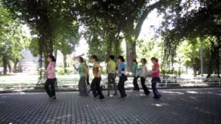 La Cucamarcha - line dance (Janet Ge ,China)