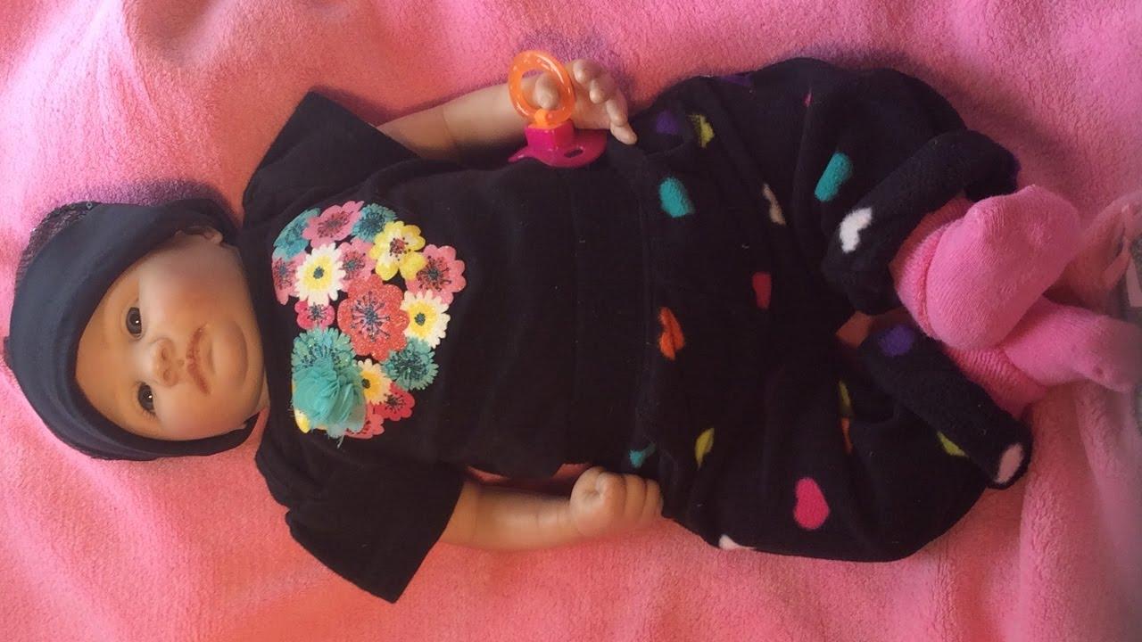 reborn baby dolls savannah s clothes changed baby