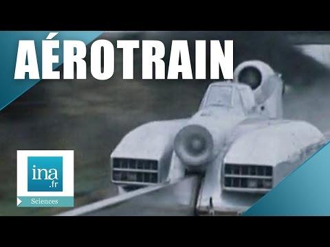 1968 : A bord de l'aérotrain à Orléans   Archive INA