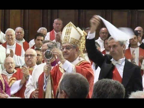 Napoli  San Gennaro, si ripete il miracolo. Sangue era già sciolto in cassaforte 19.09.17